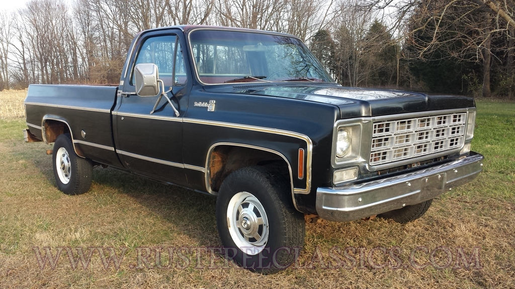 1977 chevy k20 pictures to pin on pinterest